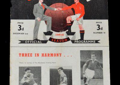 Man Utd v Newcastle 03.12.1949