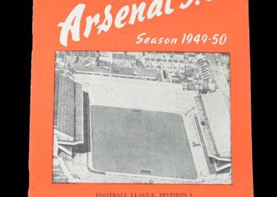 Man Utd v Arsenal 27.12.1949