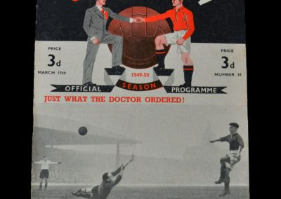 Man Utd v Liverpool 15.03.1950