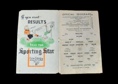Man Utd v Wolves 08.04.1950