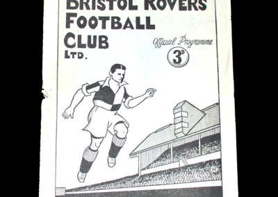 Notts County v Bristol Rovers 01.01.1949