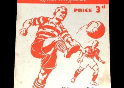 Notts County v Exeter City 12.03.1949