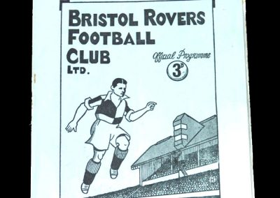 Notts County v Bristol Rovers 27.08.1949