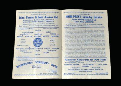 Notts County v Preston 03.02.1951