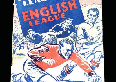 English League v Scottish League 23.03.1949