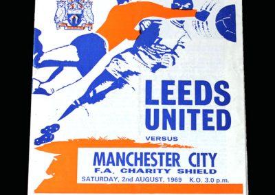 Leeds v Man City 02.08.1969 - Charity Shield