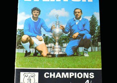 Everton Champions 1969-70