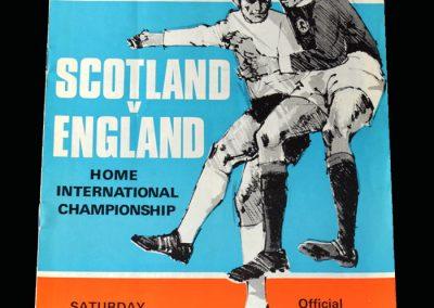 Scotland v England 25.04.1970