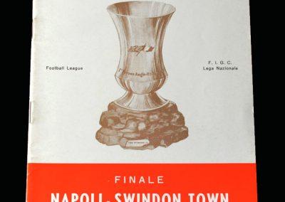 Swindon v Napoli 28.05.1970 - Anglo Italian Cup Final