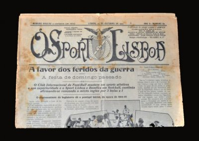 Benfica v Anglos 24.10.1914 (newspaper)