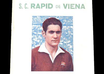 Barcelona v Rapid Vienna 16.02.1955