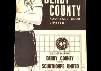 Derby v Scunthorpe 06.04.1963 (Gauld and Ron Howells indictment 2 Count 6)