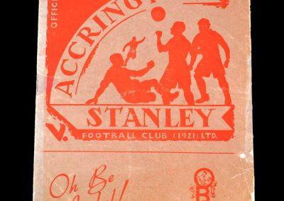 Accrington v Gateshead 18.08.1951