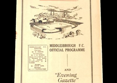 Middlesbrough v Doncaster 06.02.1952 - FA Cup 4th Round (postponed from 02.02.1952)