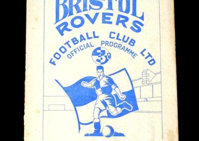 Bristol Rovers v Reading 01.03.1952