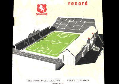 Aston Villa v Fulham 05.04.1952