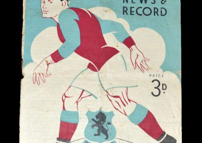 Aston Villa v Sheffield Utd 02.10.1948