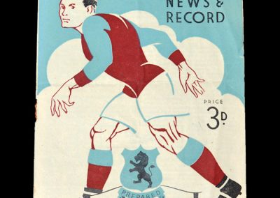 Aston Villa v Birmingham 04.12.1948