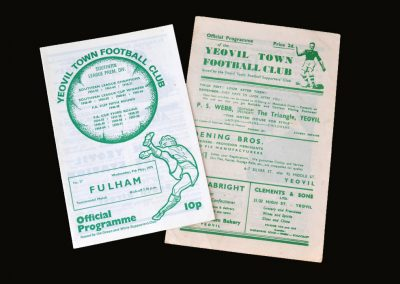 Yeovil v Sunderland 29.01.1949 - FA Cup 4th Round (Reprint 07.05.1975)