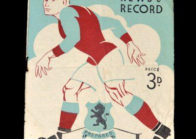 Aston Villa v Cardiff 29.01.1949 - FA Cup 4th Round