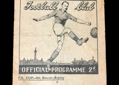 Blackpool v Stoke 05.02.1949 - FA Cup 4th Round Replay