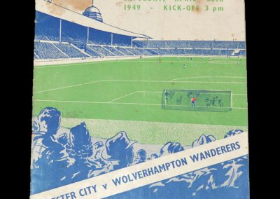 Leicester v Wolves 30.04.1949 - FA Cup Final