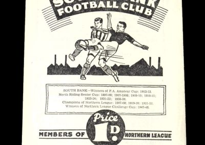 South Bank v Penrith 07.05.1949
