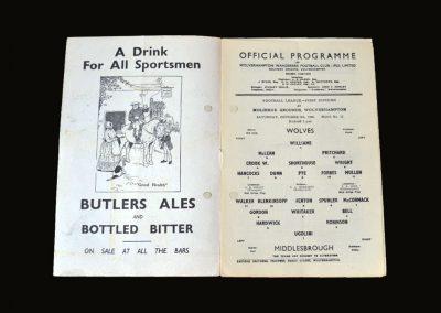 Middlesbrough v Wolves 09.10.1948
