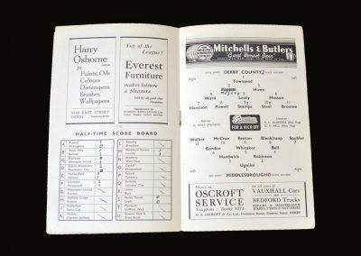 Middlesbrough v Derby 06.11.1948