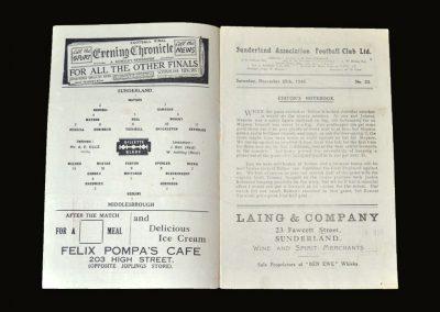 Middlesbrough v Sunderland 25.12.1948