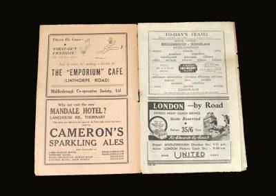Middlesbrough v Sunderland 27.12.1948