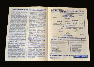 Middlesbrough v Spurs 29.01.1949 (Friendly)