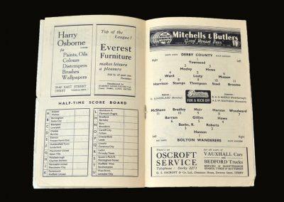 Derby v Bolton 25.09.1948