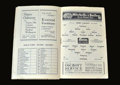 Derby v Chelsea 23.10.1948