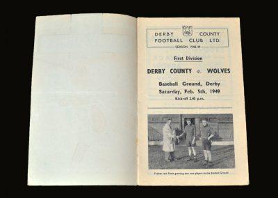 Derby v Wolves 05.02.1949