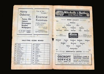 Derby v Newcastle 09.04.1949