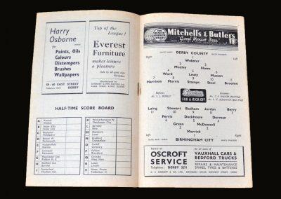 Derby v Birmingham 23.04.1949