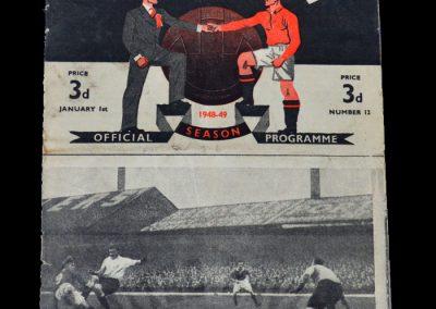 Man Utd v Arsenal 01.01.1949