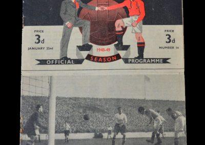 Man Utd v Man City 22.01.1949