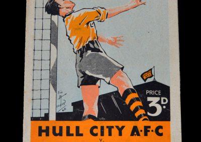 Man Utd v Hull 26.02.1949 - FA Cup 6th Round