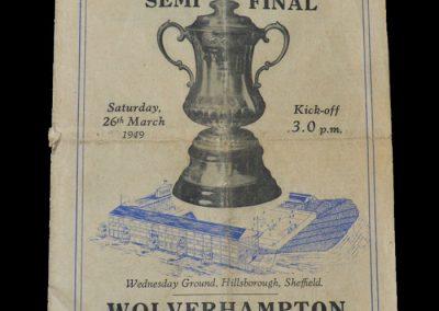 Man Utd v Wolves 26.03.1949 - FA Cup Semi Final