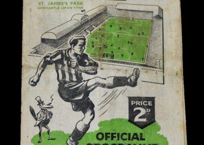 Man Utd v Newcastle 30.04.1949
