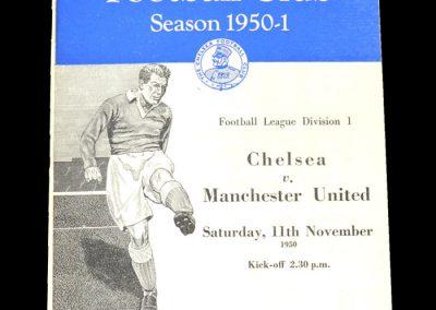 Man Utd v Chelsea 11.11.1950