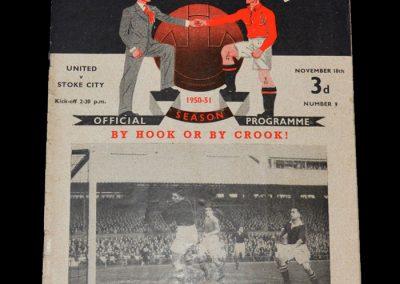 Man Utd v Stoke 18.11.1950