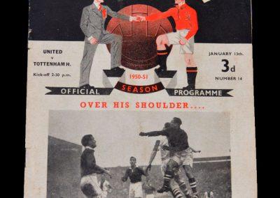 Man Utd v Spurs 13.01.1951