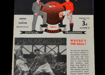 Man Utd v Everton 17.03.1951