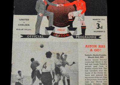 Man Utd v Chelsea 31.03.1951