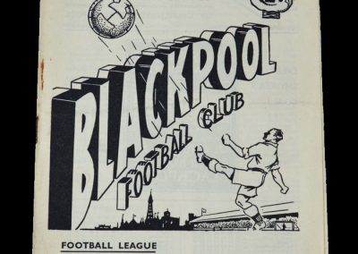 Man Utd v Blackpool 05.05.1951