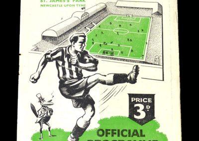 Newcastle v Fulham 11.11.1950