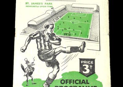 Newcastle v Burnley 20.01.1951